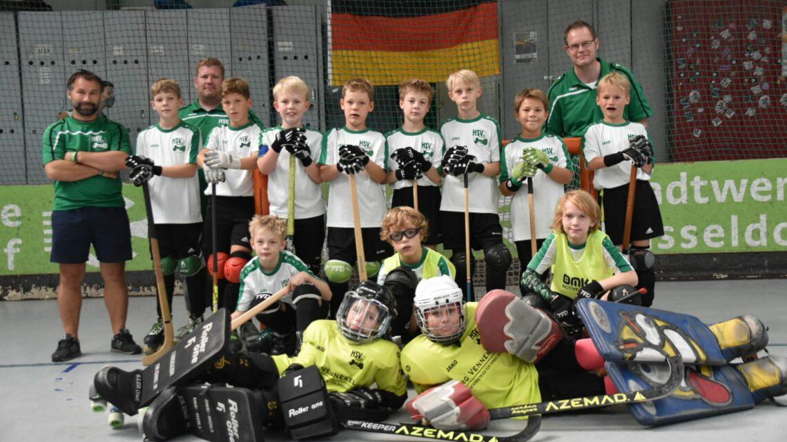 Rollhockey U11 ist deutscher Vizemeister